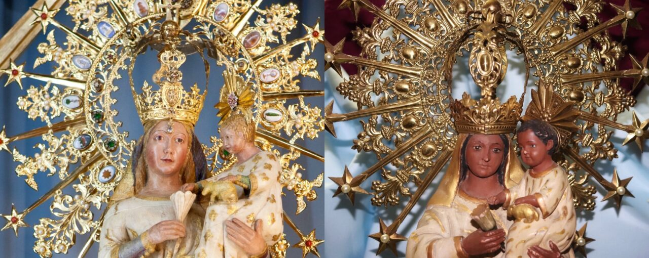 Actos Coronación Virgen del Castillo en el Colegio