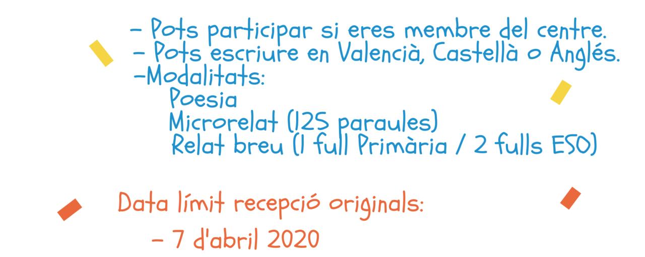 III Concurs Literari IC